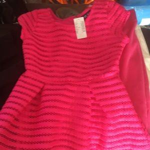 Pink girls youth dress